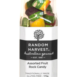 Assorted Fruit Rock Candy