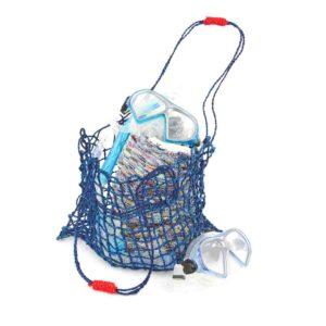 coconut string bag navy